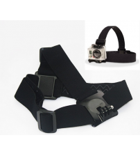 GoPro Compatible Head Strap and Clip Mount
