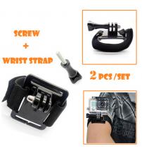 GoPro Compatible Adjustable Wrist Strap Mount for