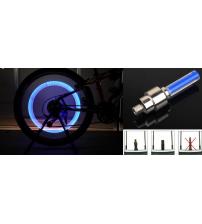 BLUE LED WHEEL LIGHTS X2